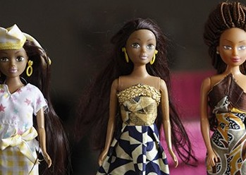 Queens of Africa dolls Nigeriaanse Barbie Afrikaanse Barbie