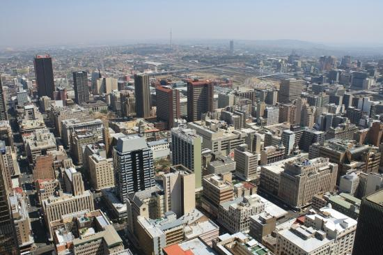 view from carlton center joburg